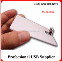 Promotional Full Capacity 4GB Credit Card USB, USB Business Card 4GB UDP Waterproof, USB 4GB Card Drive Full Printing