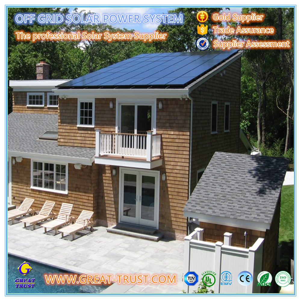 High efficiency 10KW,offgrid solar power system mini solar system project with CE certificate