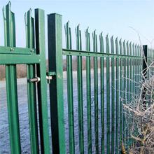 High Quality Galvanized Steel Palisade Fence/devils fork palisade fencing used for home garden