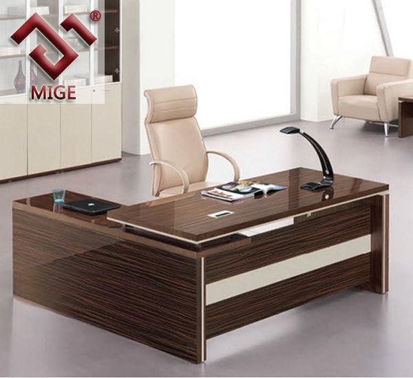 Table For Office eldesignrcom : Sandal Wood Veneer Executive Office Table Design from eldesignr.com size 600 x 550 jpeg 52kB