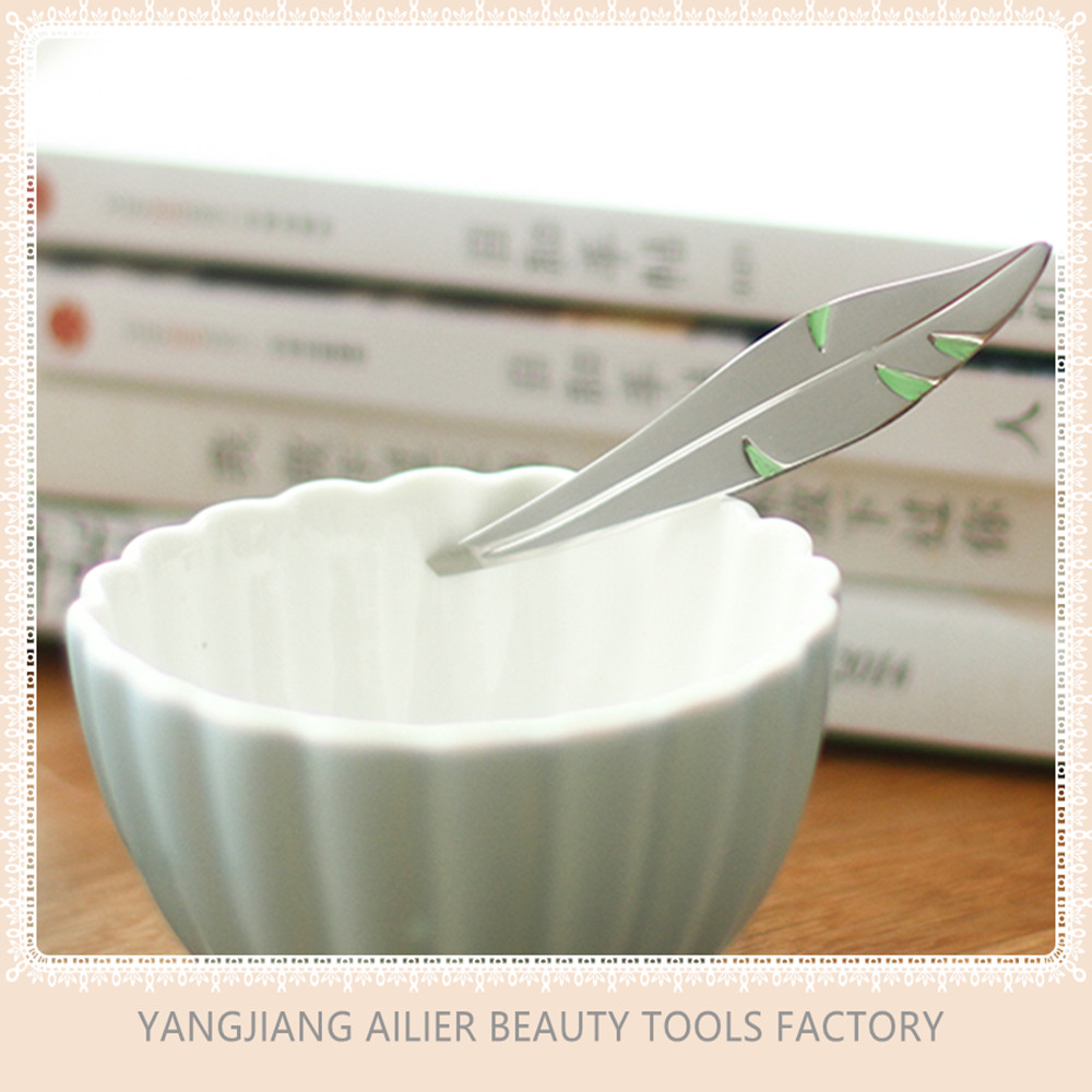 Stainless Steel Tweezers Manufacturer, Tweezers For Eyebrows, Professional Stainless Steel Tweezers Of Leaf Shape