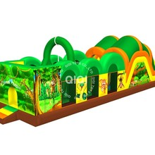 inflatable obstacle course for sale, inflatable plam tree adult inflatable obstacle course