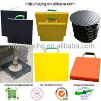 hdpe outrigger pads/ crane leg support pads/ temporary roadways manufacturer