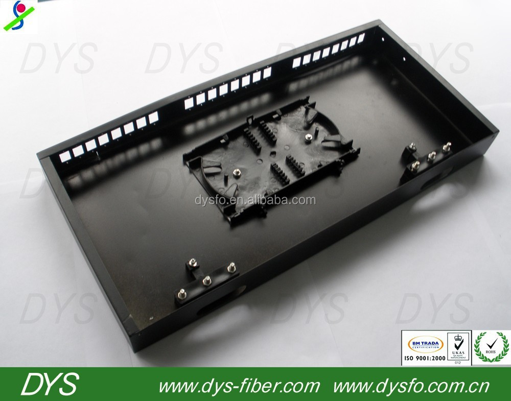 Fiber Optic ODF/ Distribution Frame /Patch Panel /19'' 1U Rack mount enclosure