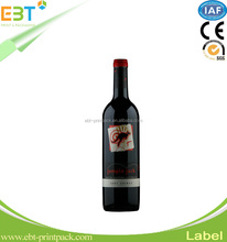 Beautiful adhesive am dr wine tag