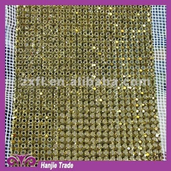 Wholesale Handmade Rhinestone Mesh in Roll