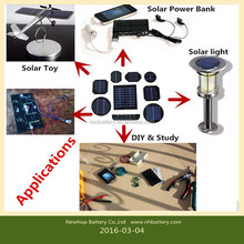 Supply 6.5V 90mA Mini Solar Cell Panels Small Solar Power 3.6V Battery Charger For Solar Toy Solar Lamp & DIY