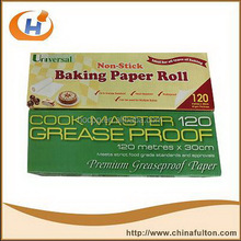 Greaseproof paper customized sheet size food wrap paper printed