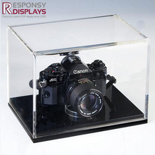 Customized Counter Table Clear Acrylic Camera or Lego Display Case