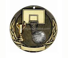 Baseket ball cup medals / custom baseket ball medals wholesale