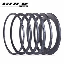 Carbon Rims Road Bicycle 700C 25mm Width for Road Bike 30mm/35mm/38mm/50mm/ 60mm/80mm/88mm depth Clincher U shape carbon wheel