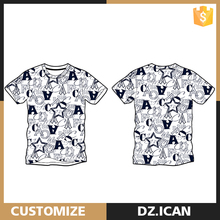 New Style Custom Made Cotton Blank T-Shirt Bangkok Thailand