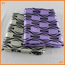 stripes,polka dots pattern soft satin material diy