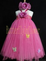Flower firl Tutu dress Posh little Tutus Dresses new fashion 2012