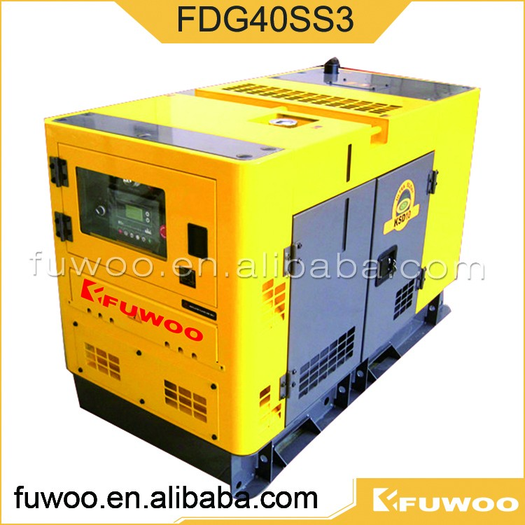 Fuwoo Three-phase Electric Ultra silent FDG40SS3 diesel Generators