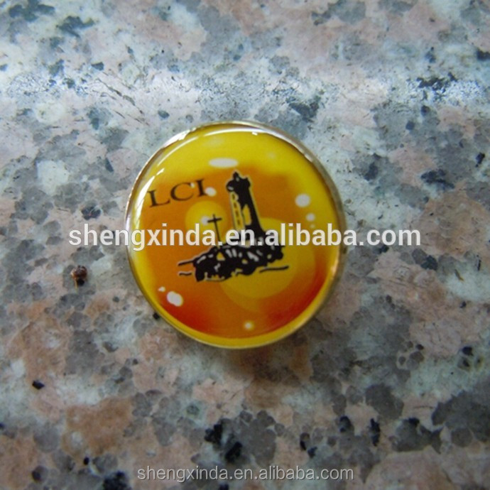 Golf cap clip ball marker magnetic golf ball marker necklace golf ball markers