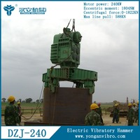 Used Offshore Construction Pile Driving Machines DZJ240B Electric Vibratory Hammer