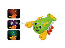 new design projective ABS bo plastic toy lobster with music