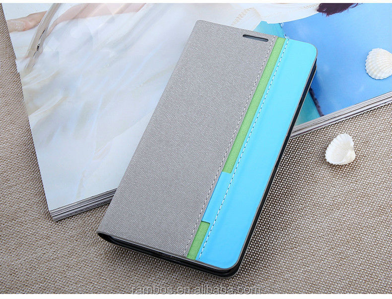 Stand leather mobile cover pouch card holder flip cover case for Sony WT13I