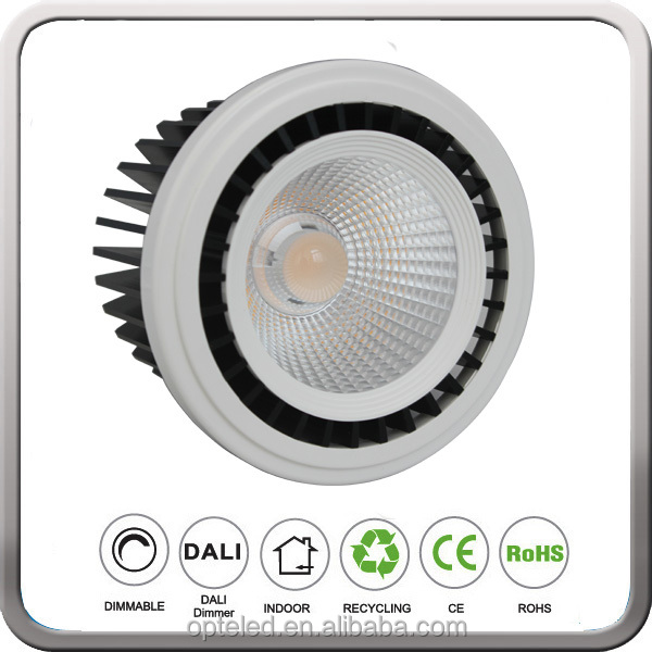 220V Dimmable LED Spotlight Ar111 LED 20W 30W With CREE COB CRI85