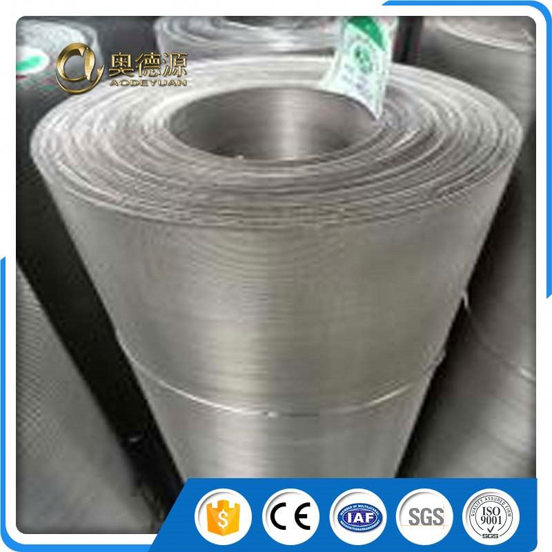 different types of cheap sus 316 stainless steel dutch reverse weave wire mesh