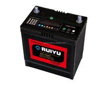 Dry Charged atlas car battery/Auto Battery/ Korea mf battery Starting Battery with 12 months warranty