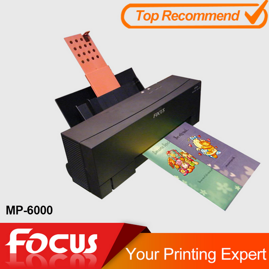 Focus MP 6000 Hot gold silver foil ribbon printing machine