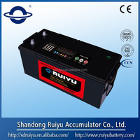 High quality Maintenance Free 12v 101-150 AH car battery / auto 12v battery
