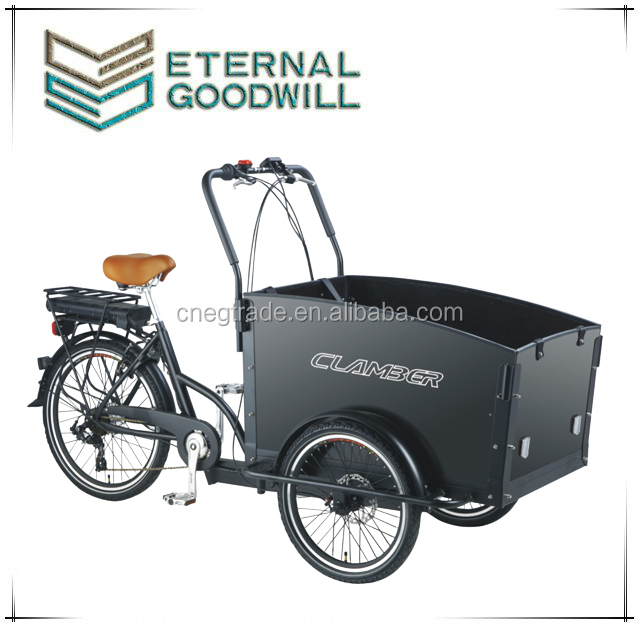 2015 hot sale 3 wheels electric Cargo tricycle Bike/Electric tricycle model UB9031E-6S