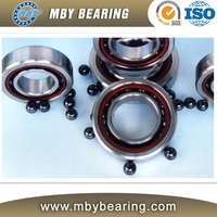 Small frication high speed ceramic angular contact ball bearing 140BNR10
