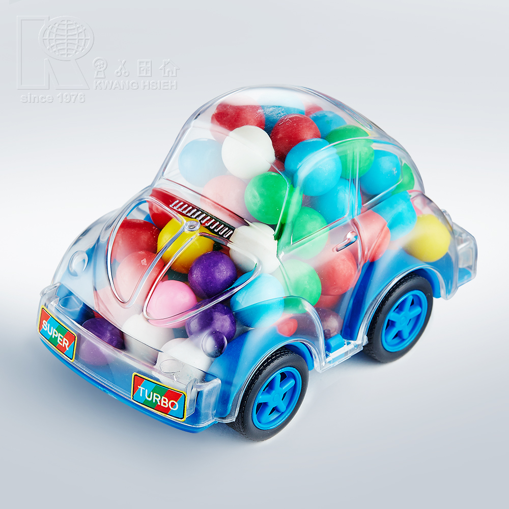 Kwang Hsieh Small Car Shaped Plastic Candy Display Toy