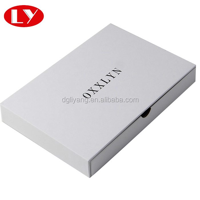 White Colour Elegant Gift Packaging Gloves Box Chinese Suppliers