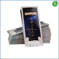 High quality and customized tea bag box/asepticbag in box/food packaging bag