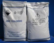 Factory supply solid zinc chloride