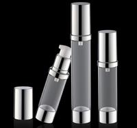 5ml 10ml 15ml cosmetic serum pocket airless pump bottle plastic pump bottle
