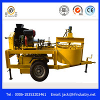 hydraform manual M7MI diesel hydraulic interlocking compressed earth clay soil cement super block brick making machine