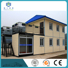 fireproof light steel frame sandwich panel cabin prefab house China