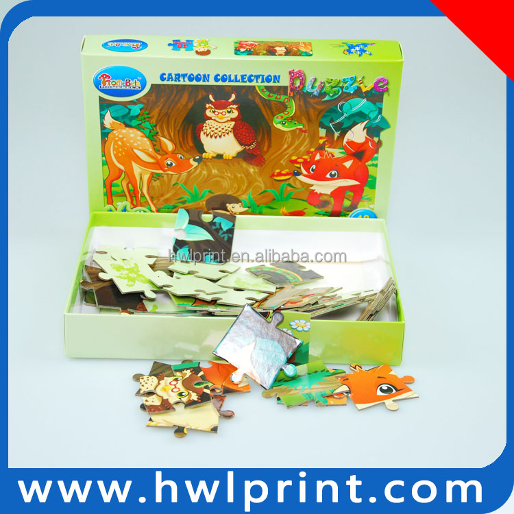 Innovation Pattern Educational Paper Puzzle Toys for Children