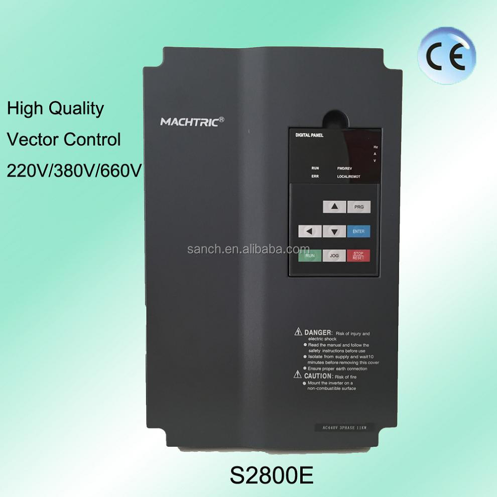 S2800E Large Torque AC-DC-AC Adjustable Speed Drive Frequency Converter For Drawing Equipment