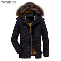 TONGYANG Western Nylon Filling Windproof Casual Wear Jackets Men Mountain Skiing Jackets Men