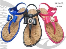 LATEST STYLE LADIES JELLY SANDALS PVC SANDALS WOMEN DESIGNER SHOES 2015