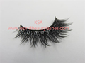 Hot sale wholesale factory price luxury soft good quality korean silk lashes KSA hand made with private packaging