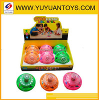 Hot sale funny plastic wheel spinning top toys