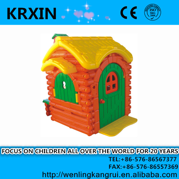 plastic baby outdoor playhouse HDPE play house for children