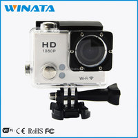 Factory Wholesale 2.0 inch Screen Go Pro Full HD 1080P Digital WiFi Sport Camera Waterproof Video Camera Camcorder