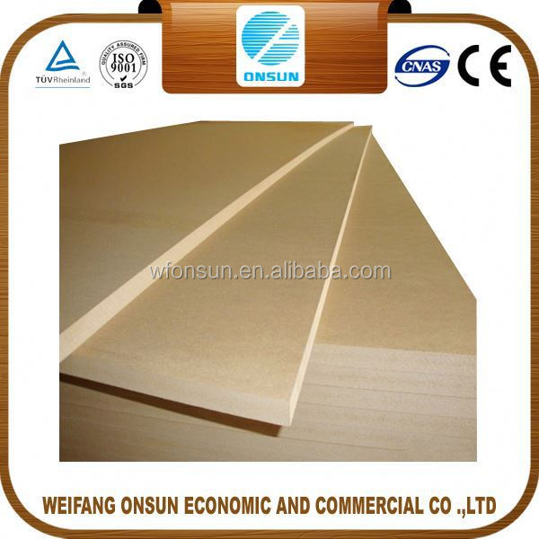 best selling stable quality mdf v grooved panels from China factory