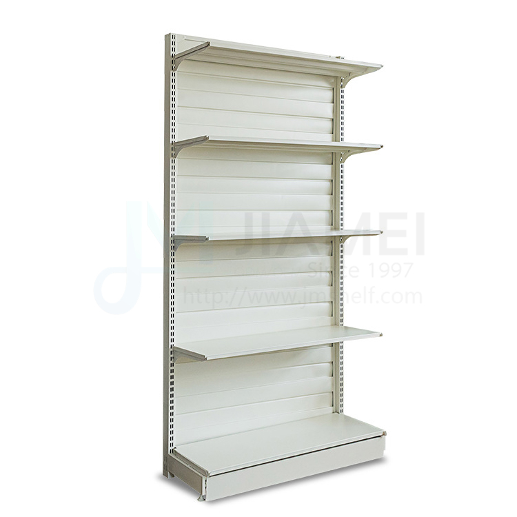 JIAMEI metal supermarket shelves display rack