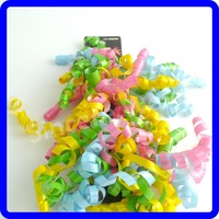 Fashion Style Multi- colors Curly Ribbon For Gift Packaging /Christmas Decorative
