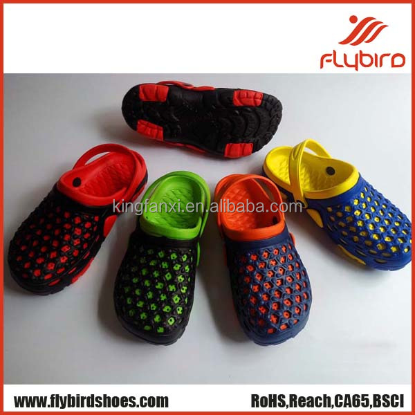 Comfortable fashion holey soles clog