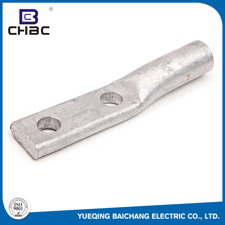 CHBC Good Electrical Conductivity Types Customized Size Two Holes Cable Lugs